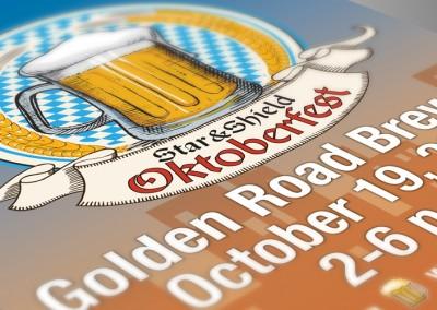 PPOA Oktoberfest Branding, Postcard and Poster